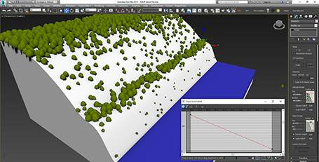 Slope Angle, Forest Pack