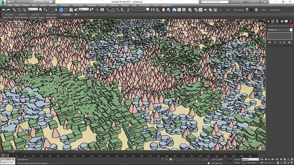 Randomiser les Maps, Forest Pack