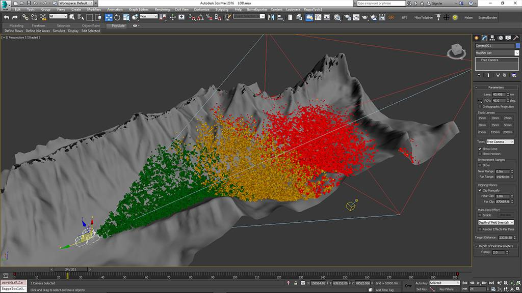 The world's most popular scattering plugin for 3ds Max