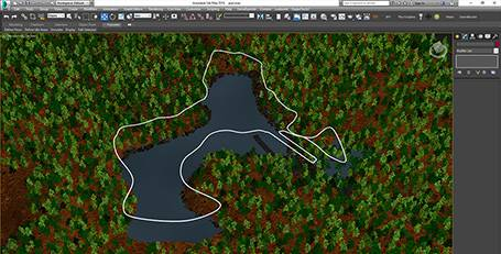 Splines, Forest Pack