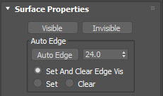 Surface properties, coloredge, Itoosoft