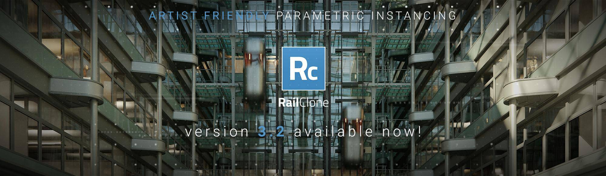 RailClone 3.2 Pro and Lite - Available now!
