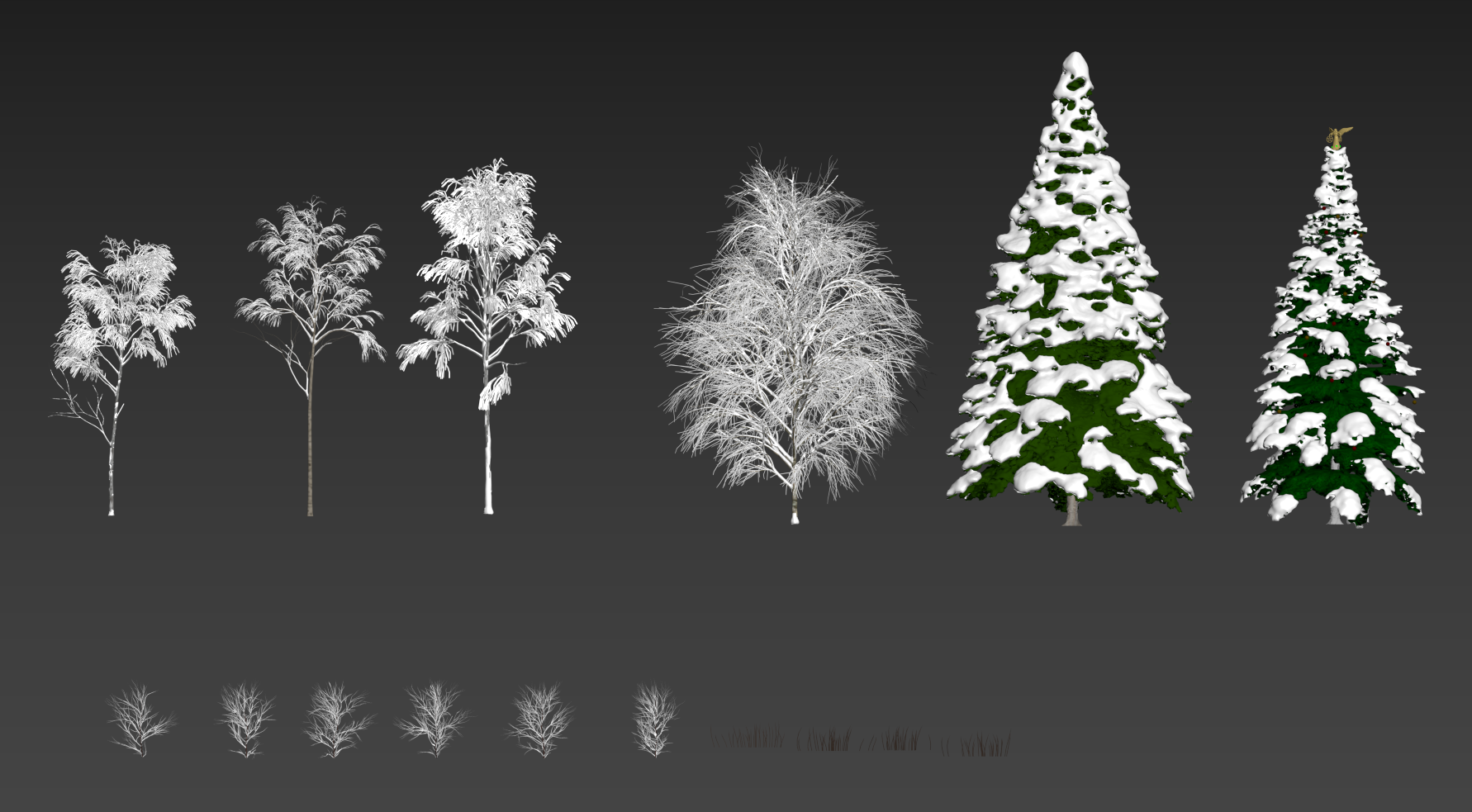Tree and plant models