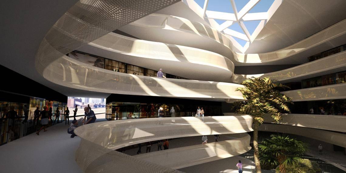 Modern Shopping Mall  , Railclone