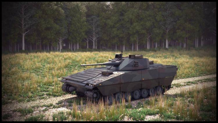 CV90 Tank , Forest Pack