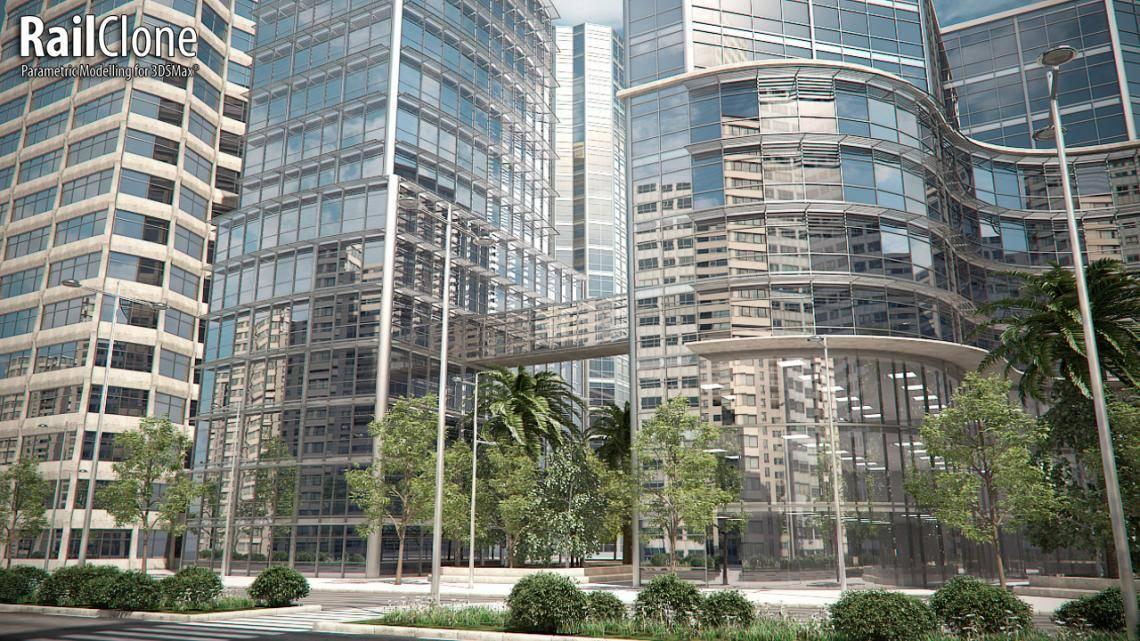 Glass Building  , Railclone