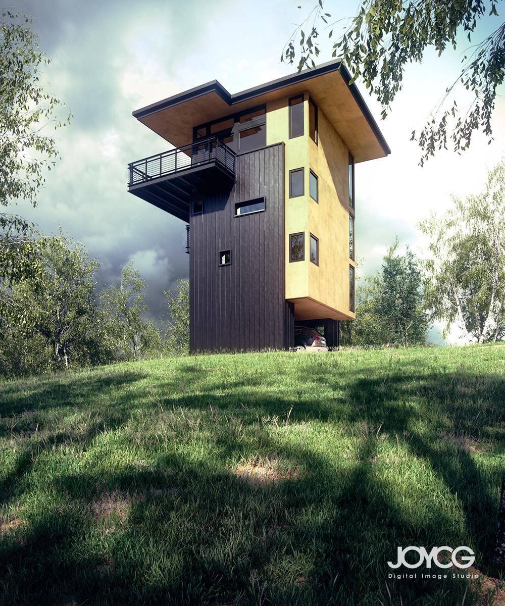 Glen Lake Tower , Forest Pack