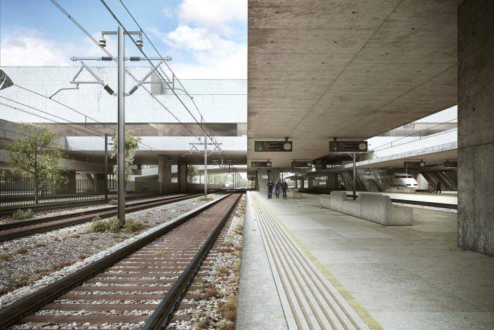 TGV Ourense , Forest Pack , Railclone
