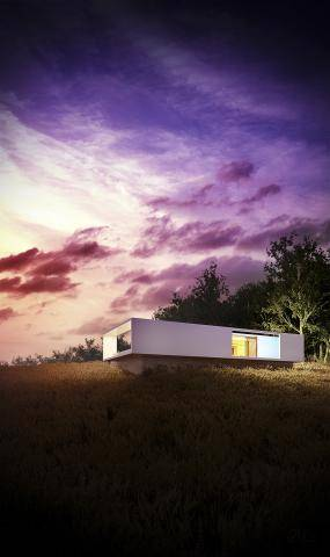 Rectangular House , Forest Pack