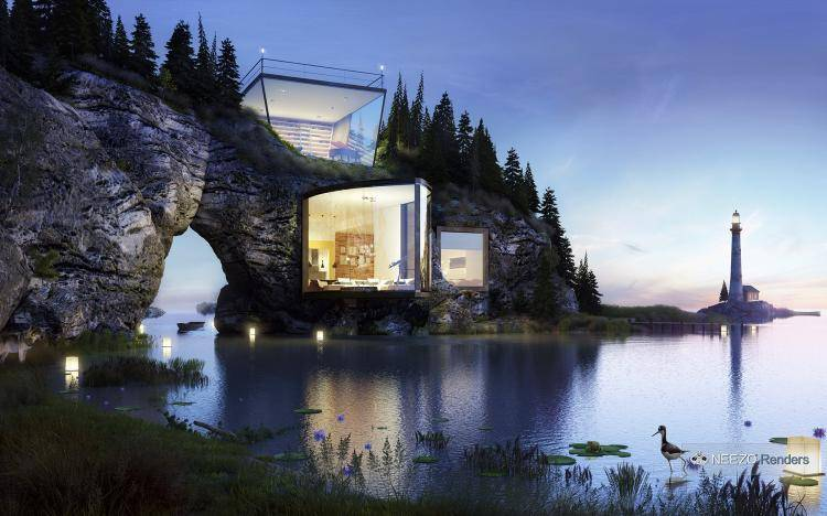 Cliff House , Forest Pack