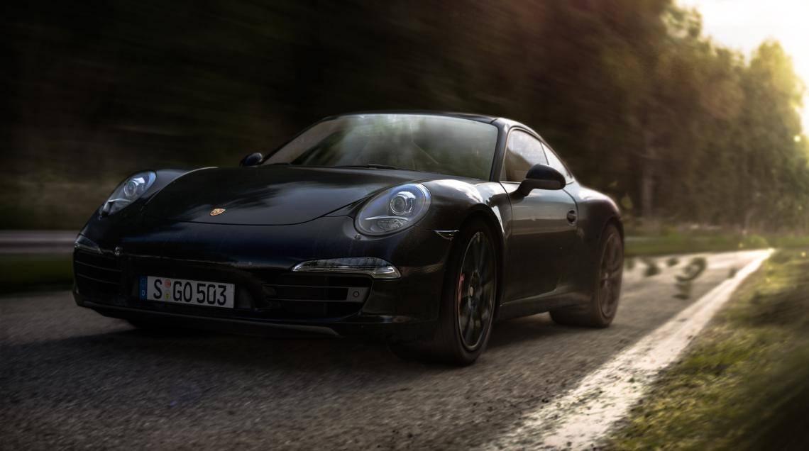 Porsche Carrera S , Forest Pack , Railclone