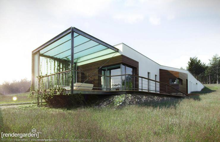 Eco-Passive House , Forest Pack