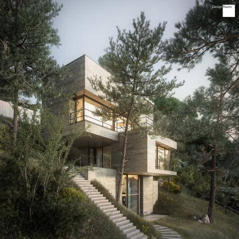 House in Nature , Forest Pack