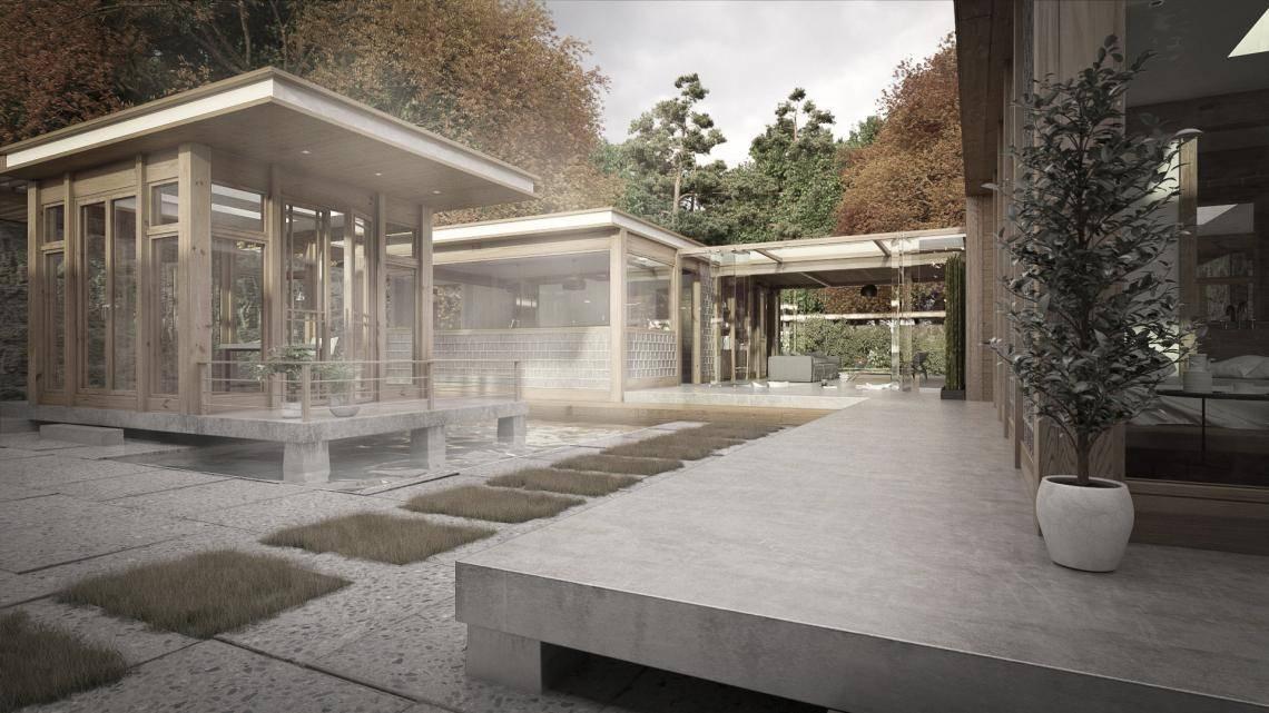 Hanok House , Forest Pack
