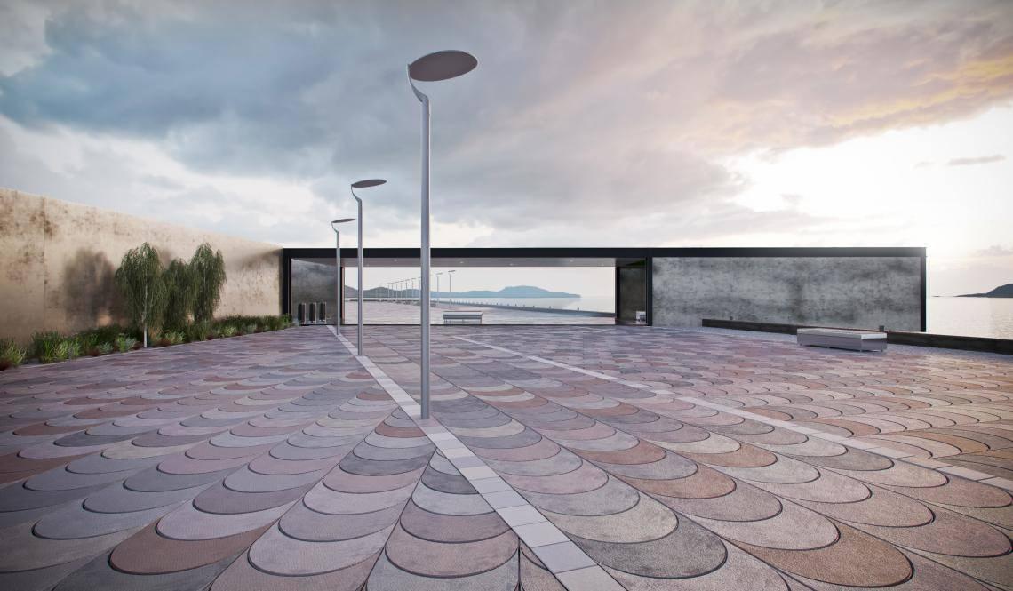 Promenade Viewing Platform , Forest Pack , Railclone