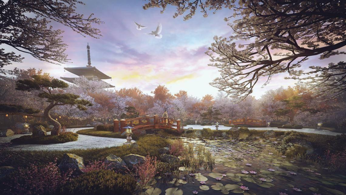 Zen Garden , Forest Pack