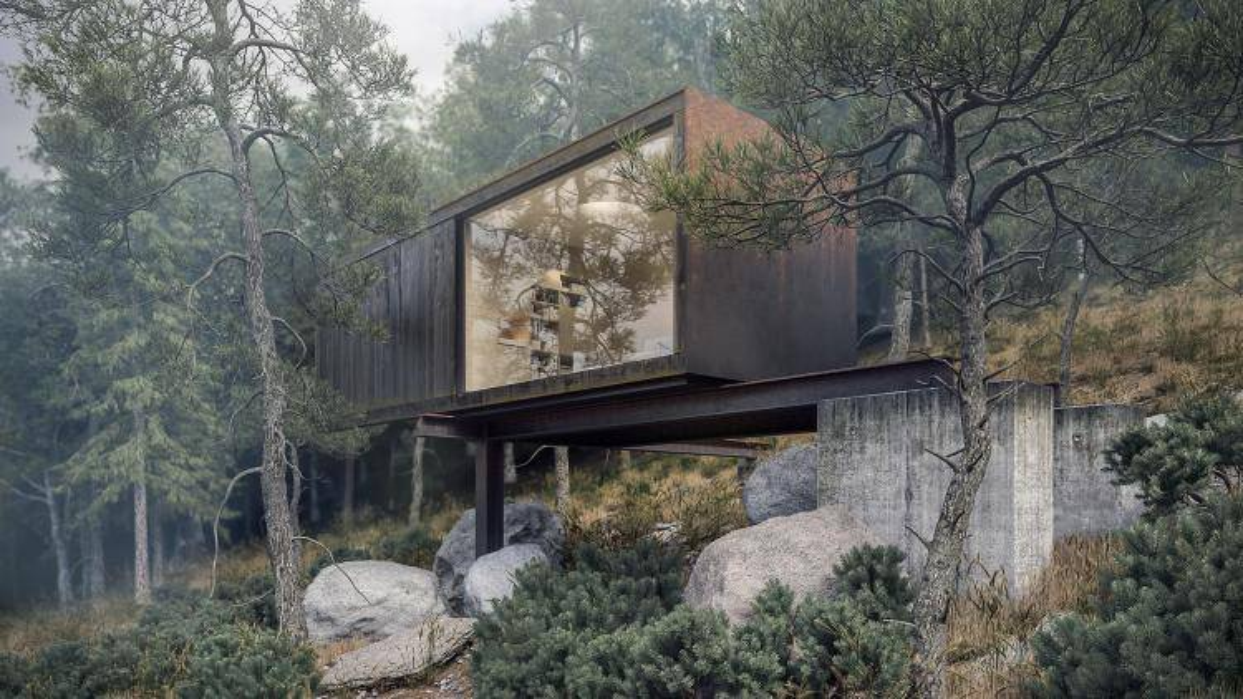 Slopehouse 360° , Forest Pack