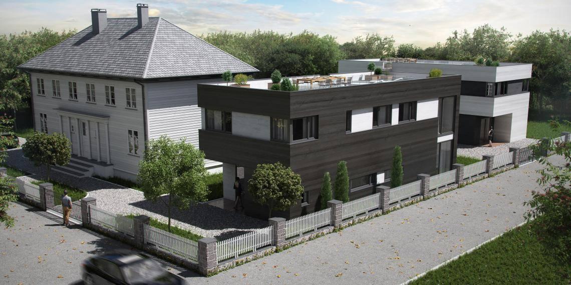 Swiss Housing/ADVN/Heimdal , Forest Pack , Railclone