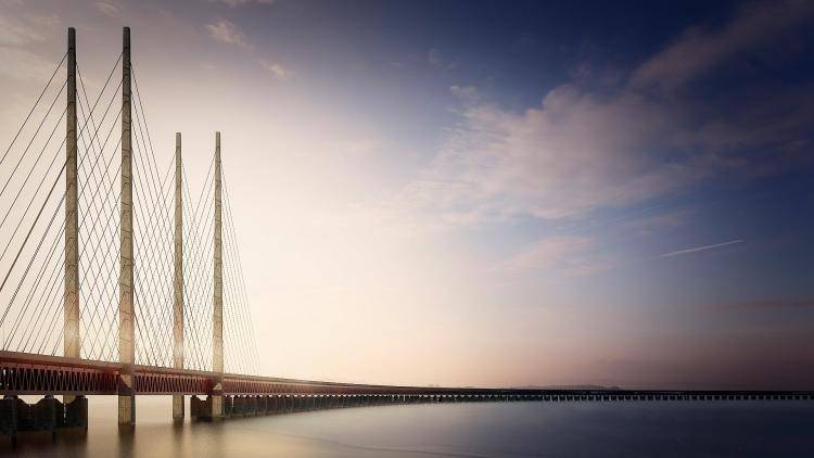 Oresund bridge  , Railclone