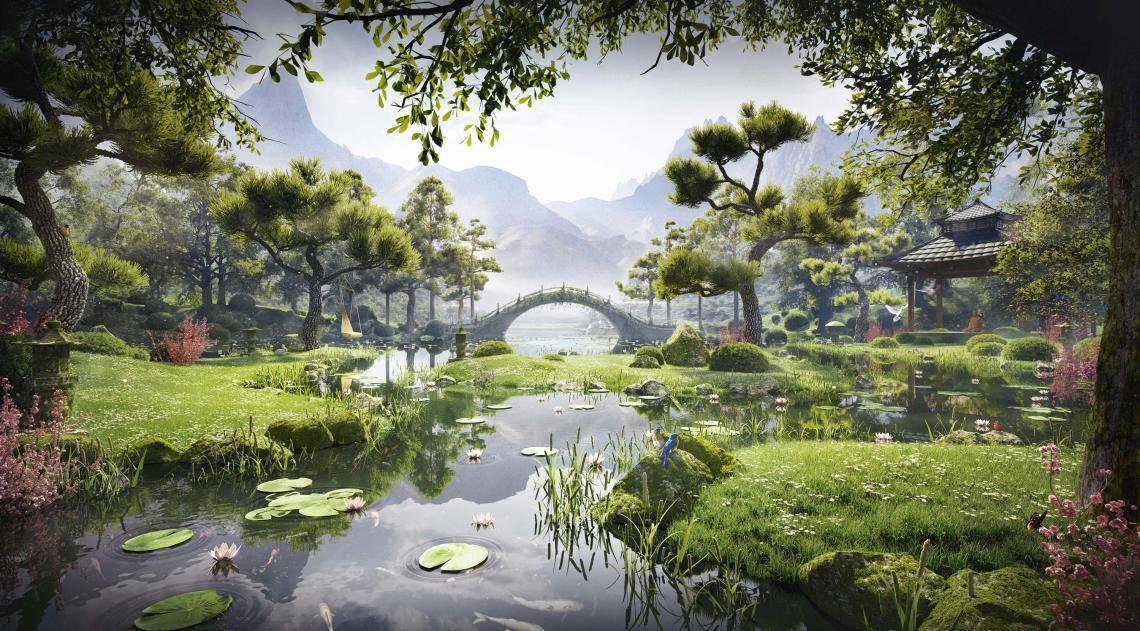 Meditation Garden , Forest Pack