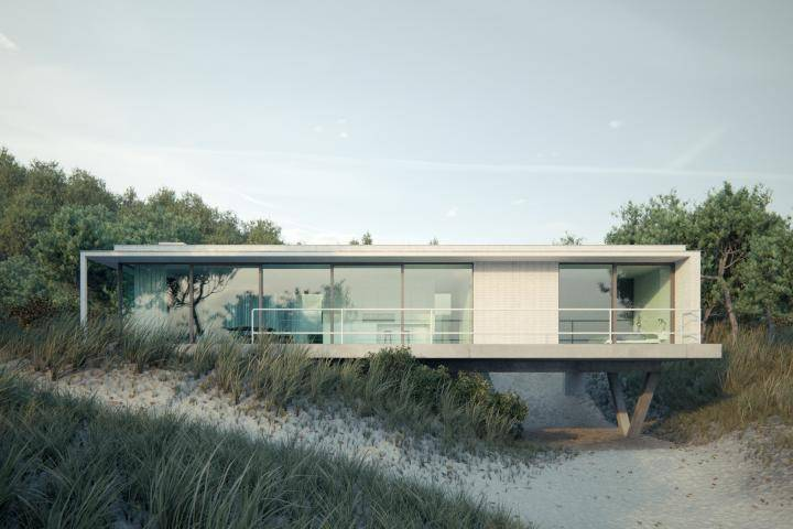 Villa on the Beach , Forest Pack