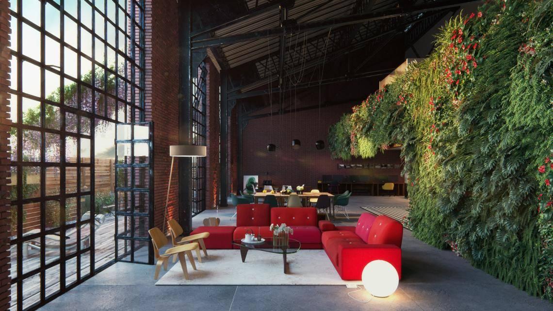 Green Interior , Forest Pack , Railclone