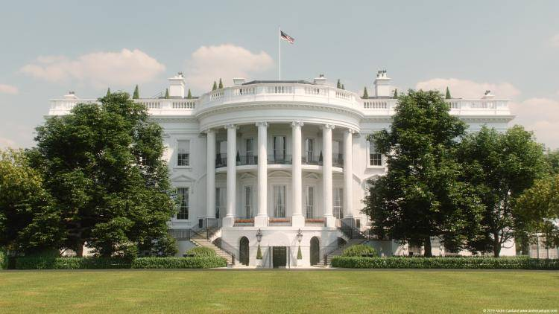 White House Model , Forest Pack