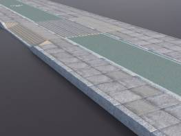 rcp-lib-sidewalk-1_flagstone_paving_green_cycle_lane.jpg