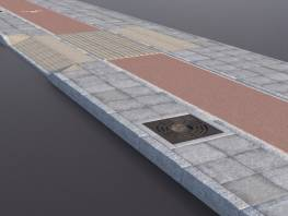 rcp-lib-sidewalk-1_flagstone_paving_red_cycle_lane_basins.jpg