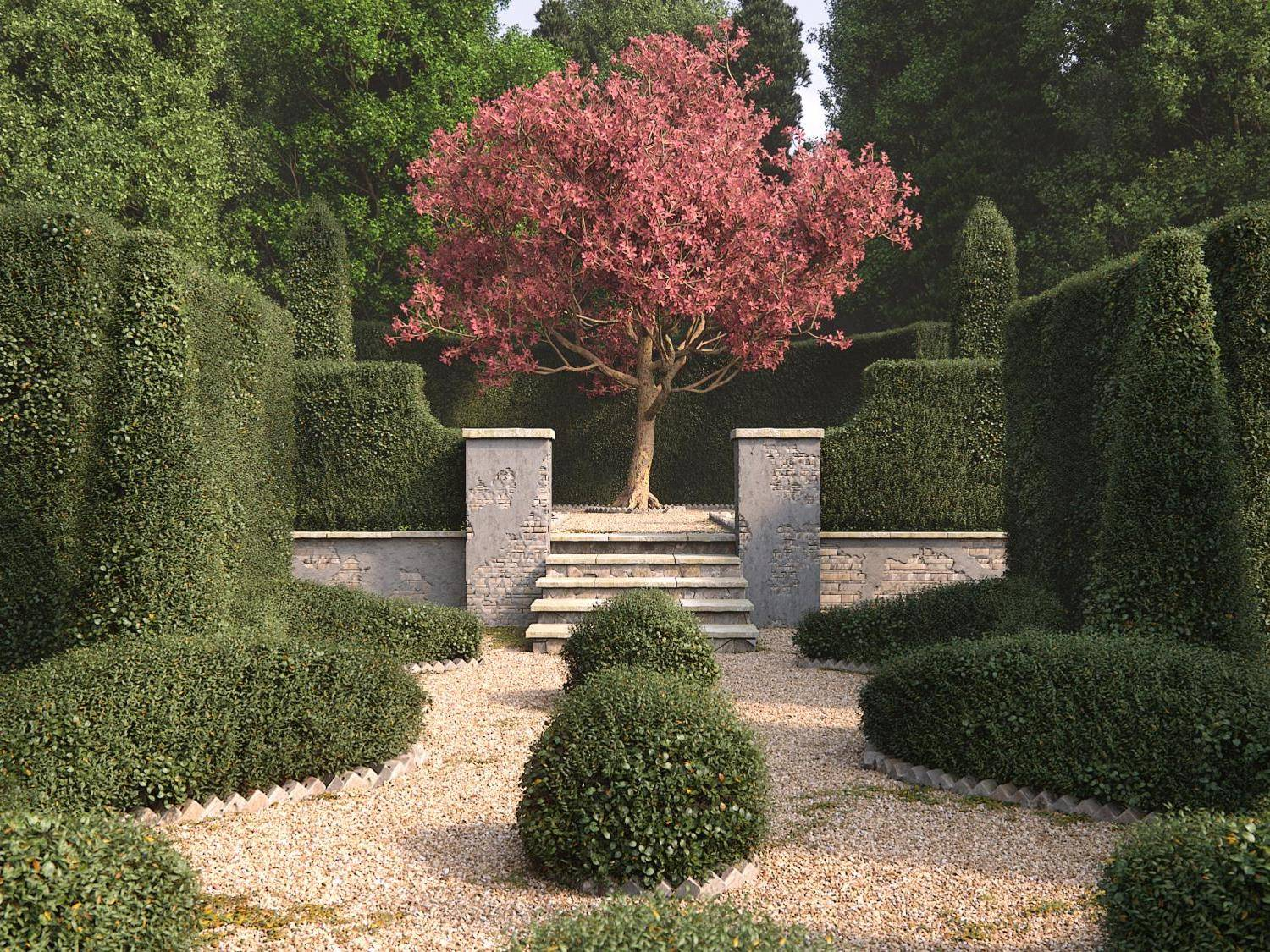 Creating Trimmed Hedges and Topiary with Forest Pack Pro