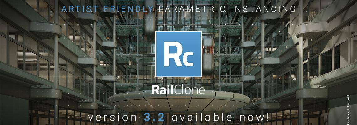 RailClone 3.2 released