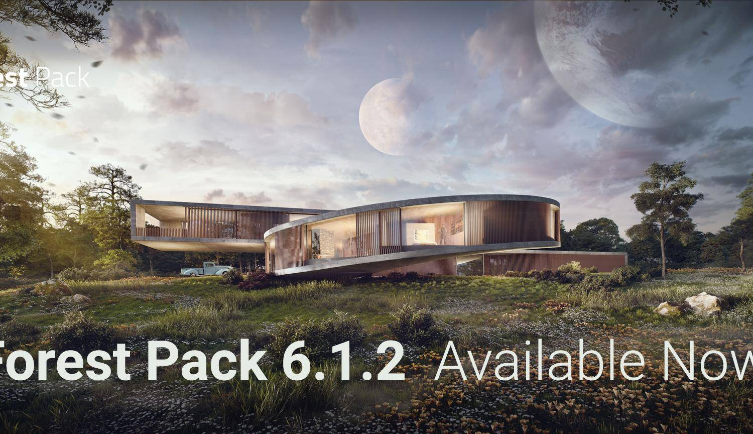 Forest Pack 6.1.2 released
