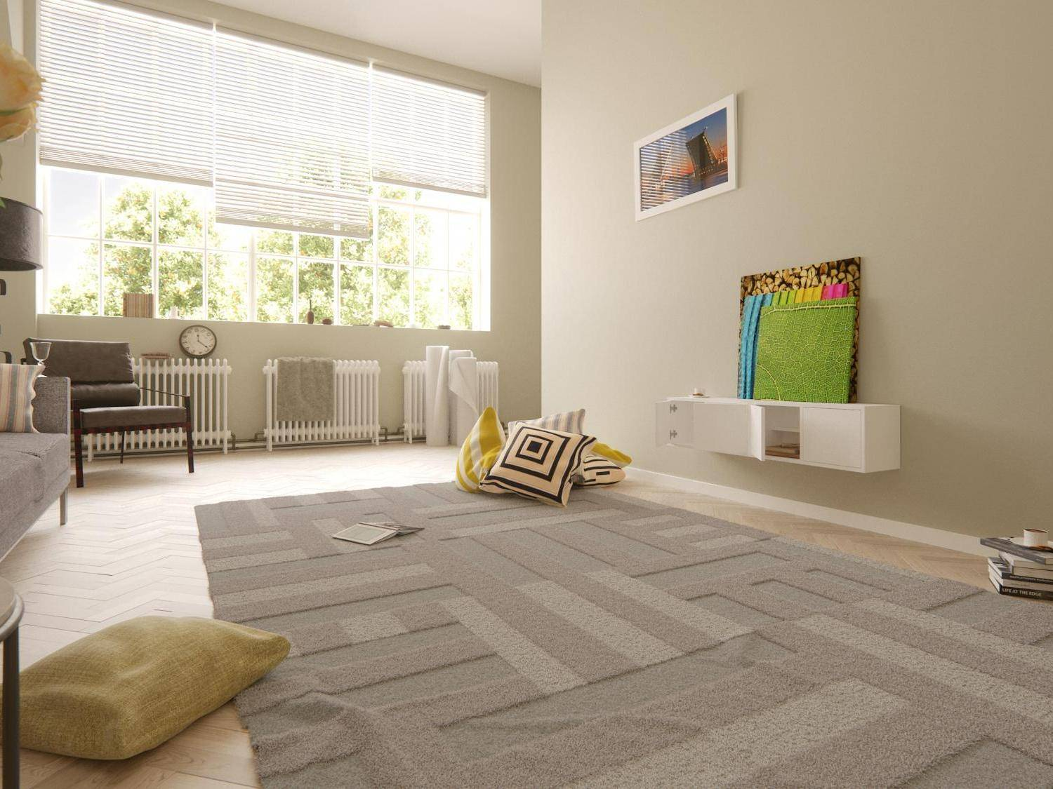 New tutorial on how to create Parquet Floors and Rugs for Interior Visualisations