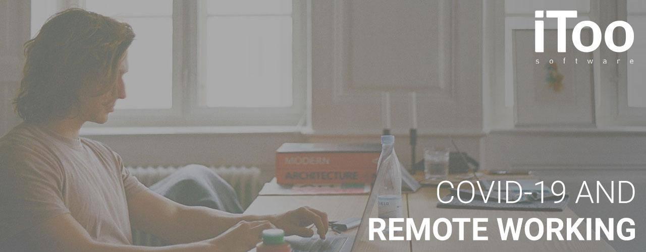 Actualización de COVID-19 y trabajar en remoto