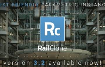 RailClone 3.2 and 3.3