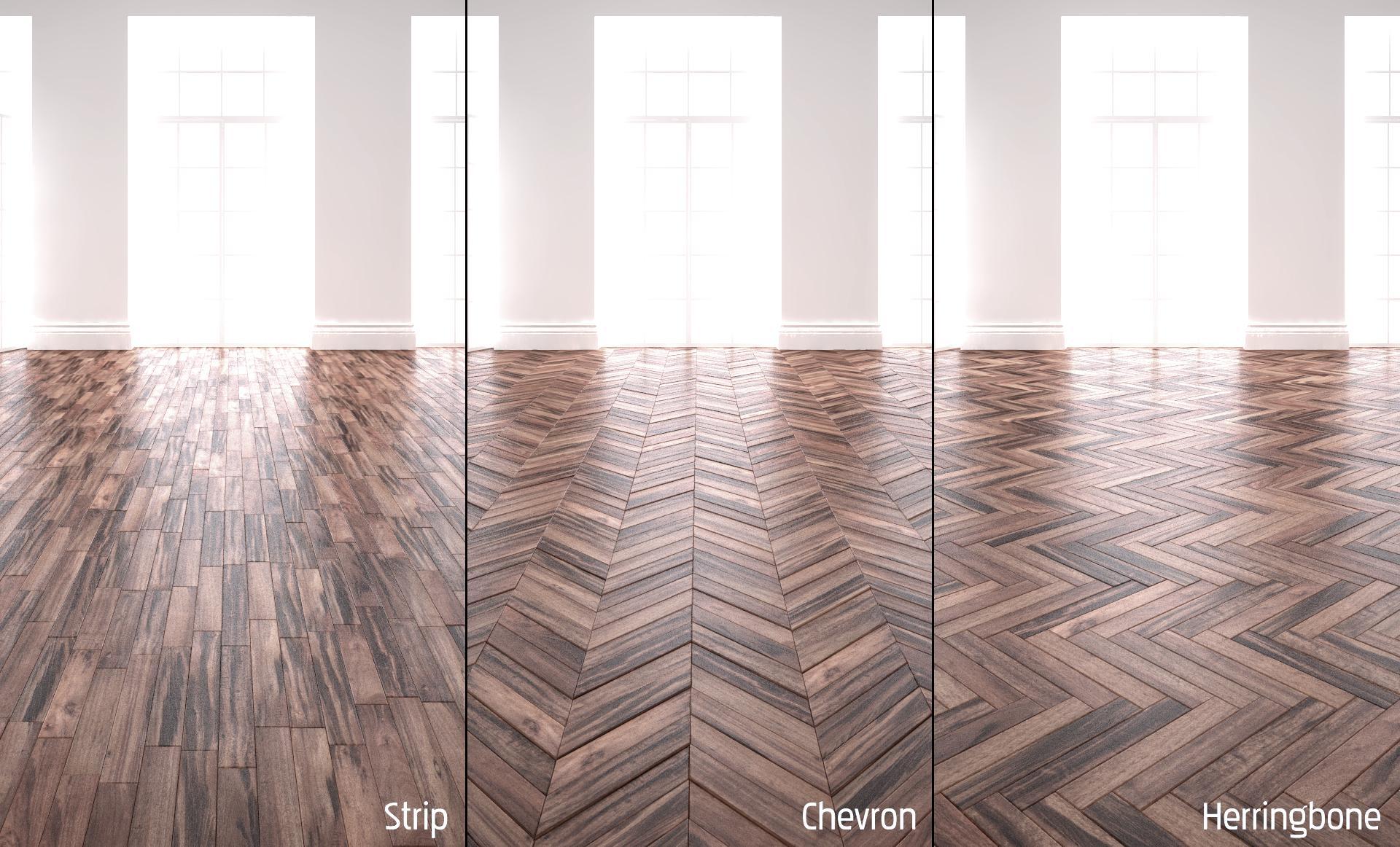 Create a parquet floor
