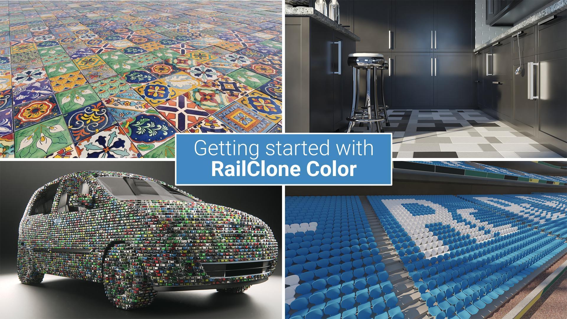 Introduction to RailClone Colour