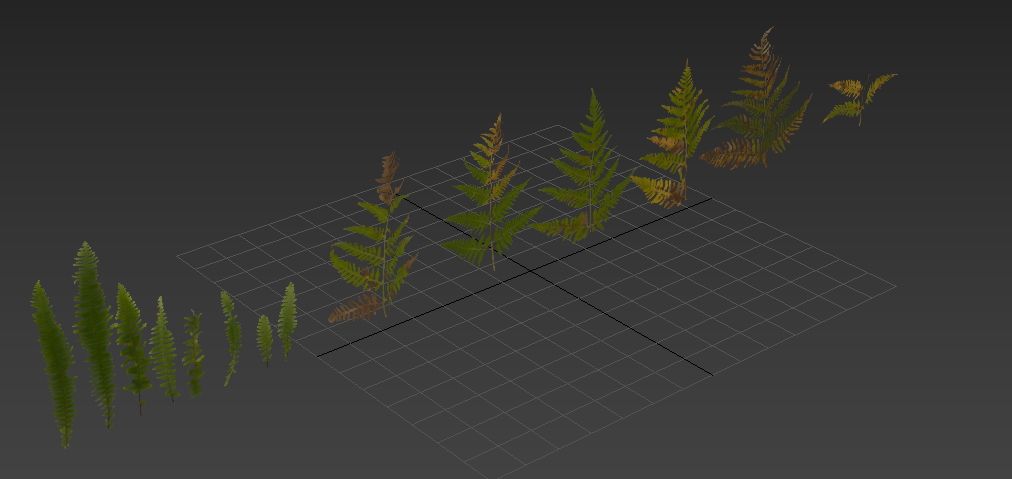 Tutorial - Using photo-scanned assets with Forest Pack