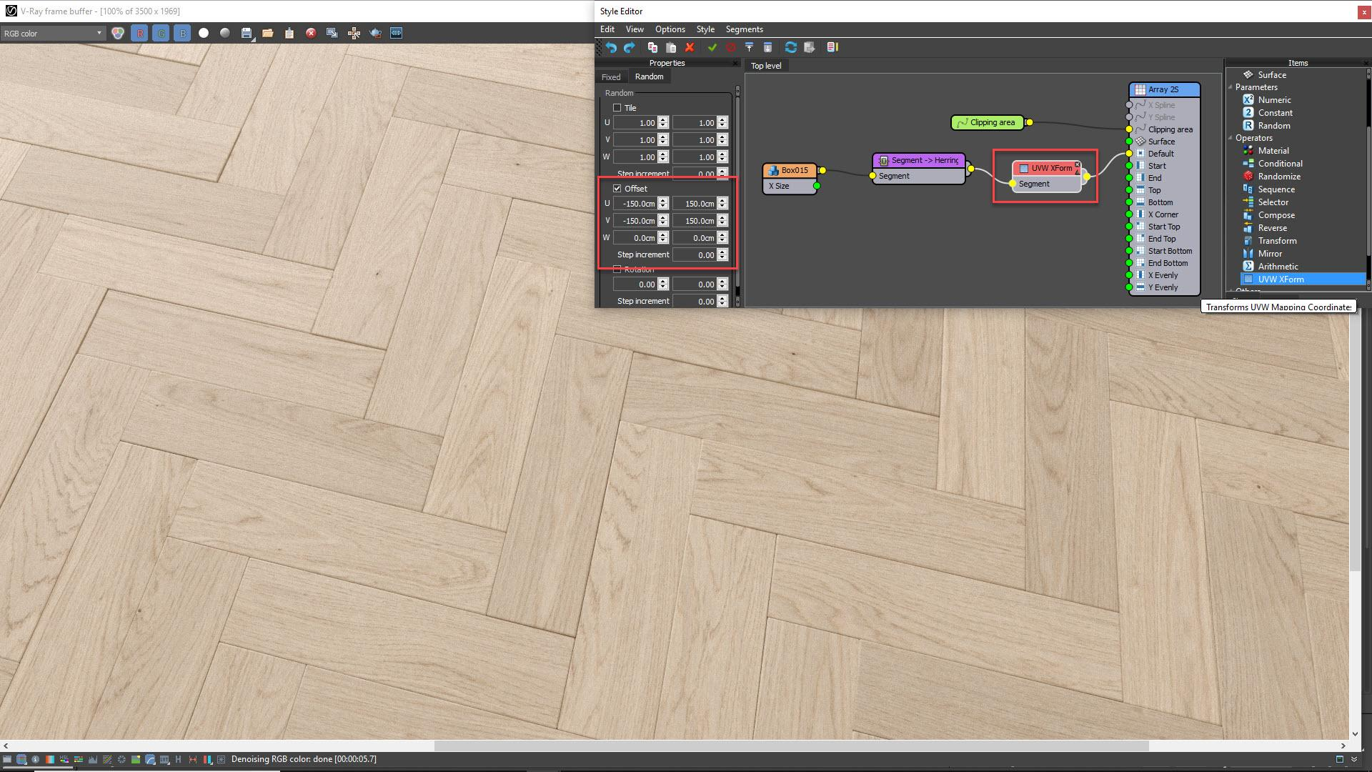Tutorial - Creating Parquet Floors and Rugs for Interior