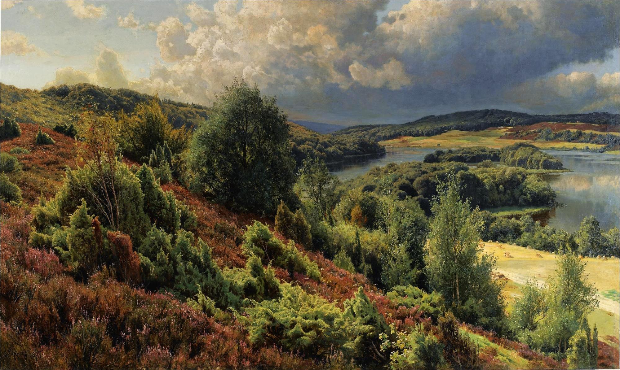Create nature scenes in no time-peder_monsted_-_lyng_bakker_ved_silkeborgh.jpg