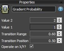 RailClone Gradient Probability - macro properties