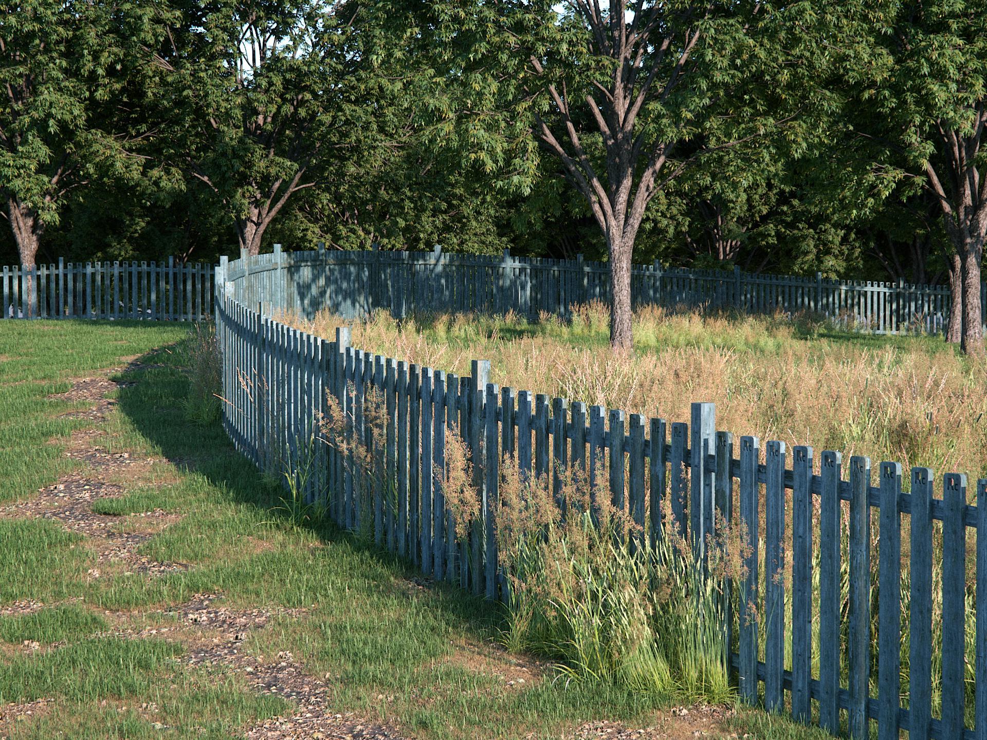 Picket Fence - Final Render