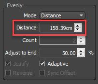 Picket Fence Distance settings
