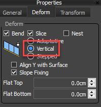 Picket Fence Vertical Deform mode