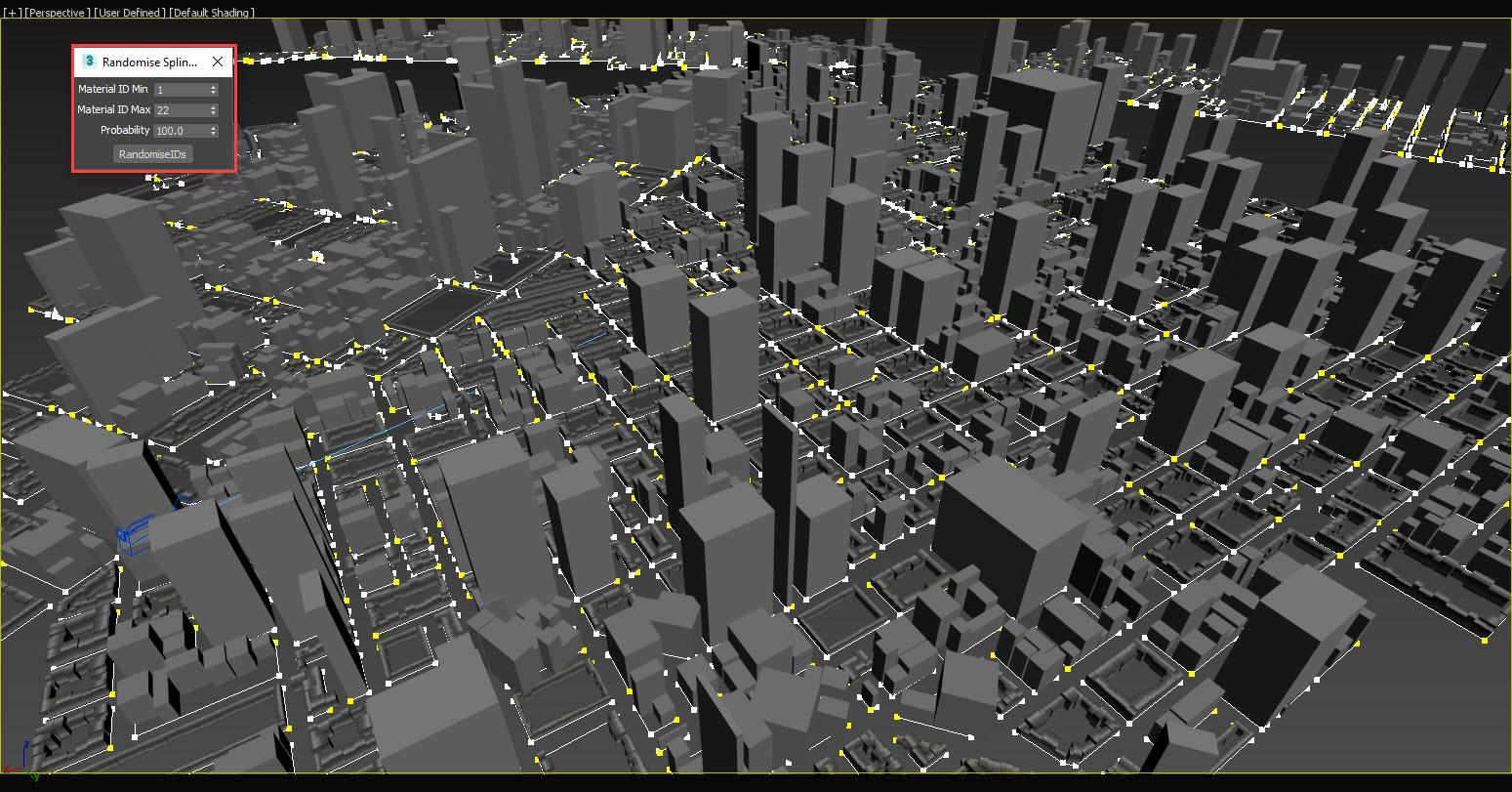 Step 19 -Populating the Entire City