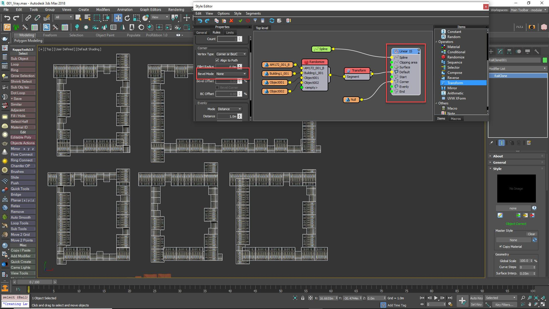 Step 5 - Add the building geometry