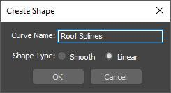 Create Shape Dialog