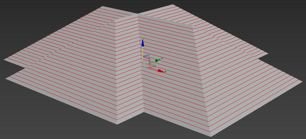 Tutorial Creating A Bonnet Hipped Roof With Railclone In 3ds Max