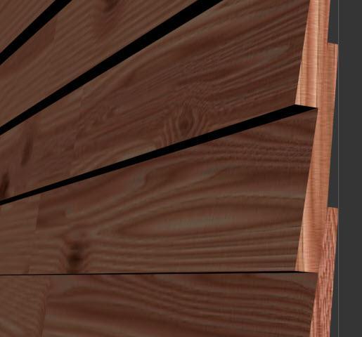 RailClone Angled Plank