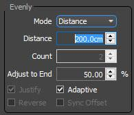 Evenly Settings